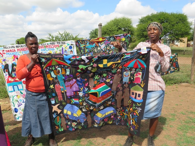 A story quilt from South Africa